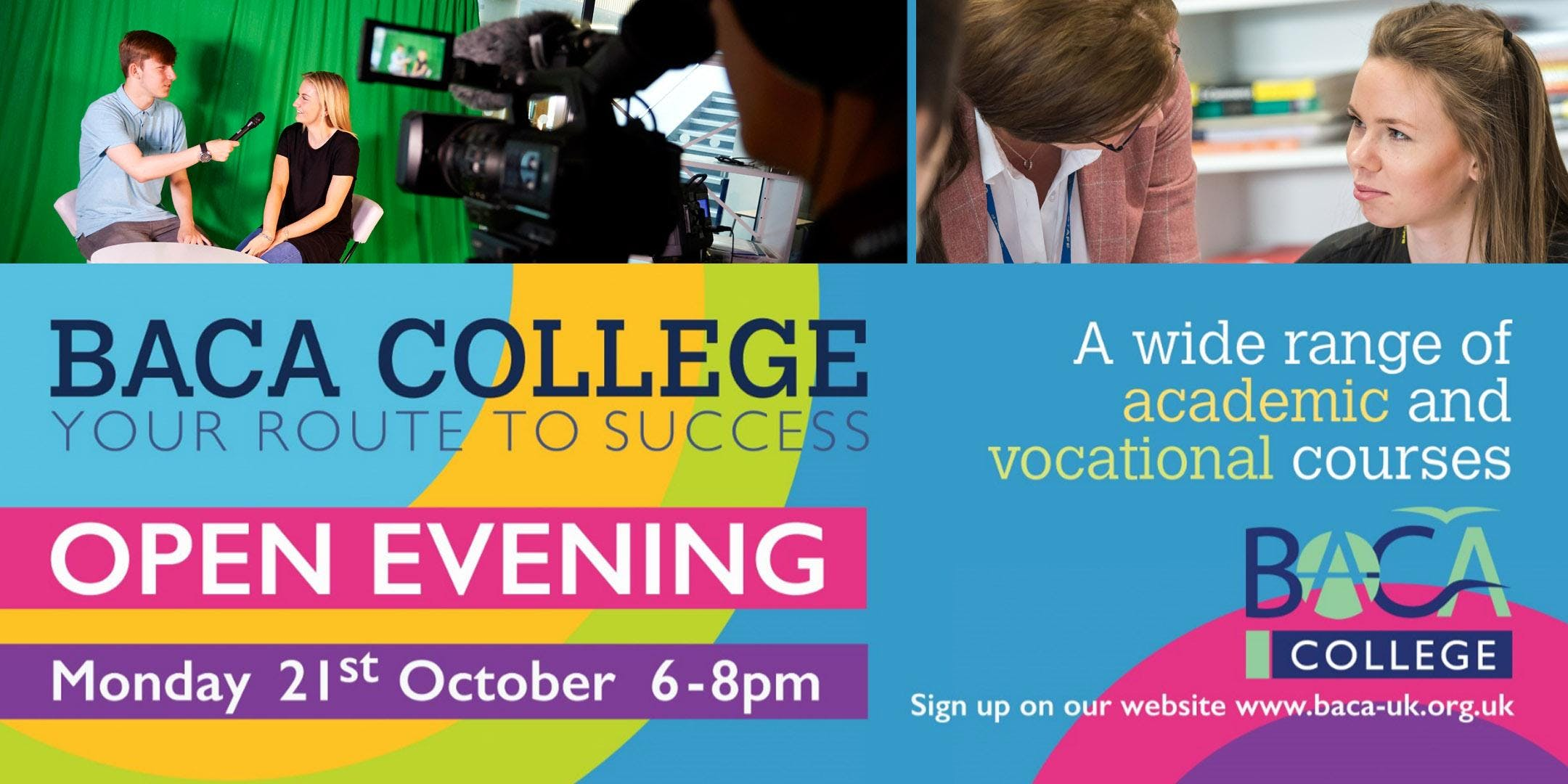 BACA College Open Evening