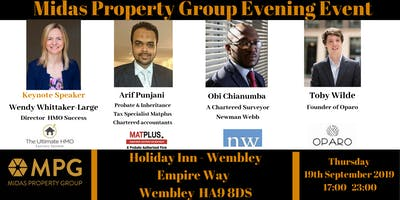 19th September The Midas Touch Event