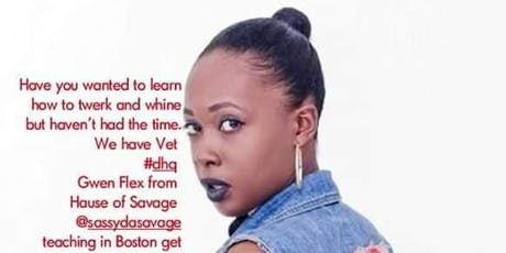 DHQ Qwen Flex Dancehall Twerk Class Boston workshop tickets