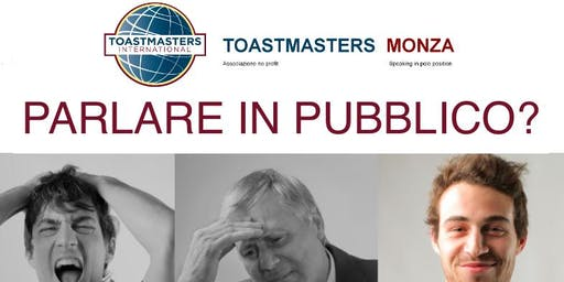 Toastmasters Monza - Speaking in Pole Position