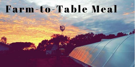 September's Farm-to-Table Meal tickets