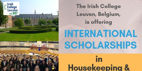 International Scholarship in Hospitality Briefing tickets