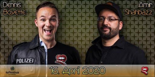 Dennis Boyette & Amir Shahbazz - StandUp Comedy