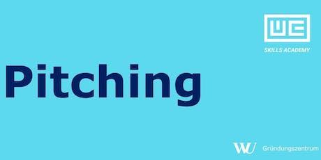 Skills Academy Workshop: Pitching Tickets