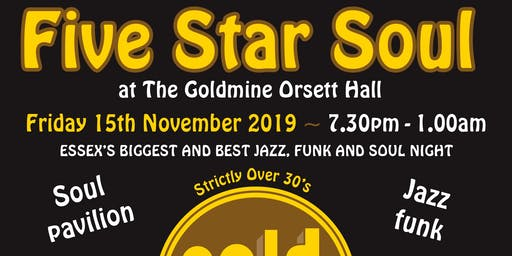 5 Star Soul at The Goldmine Orsett Hall - John Osborne