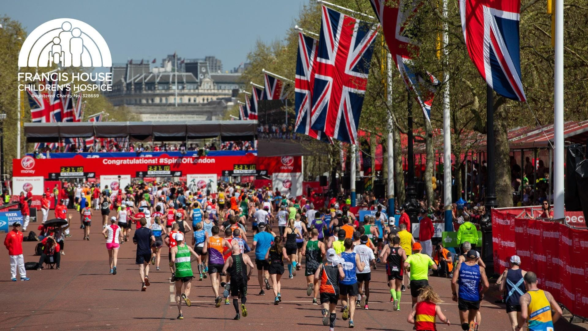 Virgin Money London Marathon 2020 - Francis House Charity Places