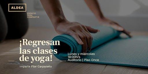 Clases de yoga @ ALDEA