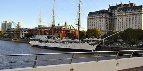 Safari junto por Puerto Madero: Paseo del Bajo + Navegación  entradas