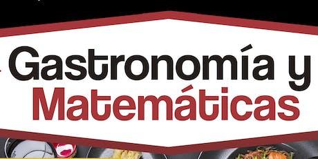 Colón: Gastronomía y Matemáticas boletos