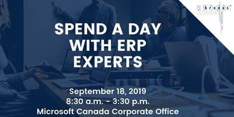 SPEND A DAY WITH ERP EXPERTS tickets