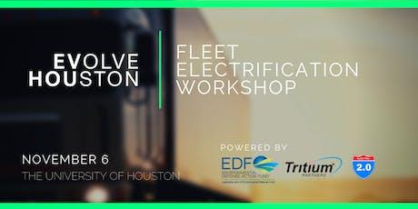 Fleet Electrification Workshop tickets