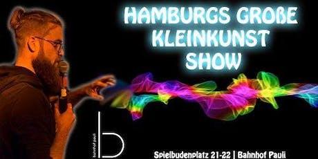 Hamburgs große Kleinkunst Show Tickets