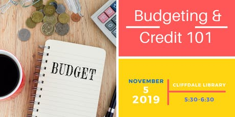 Credit 101 & Personal Budget Workshop tickets
