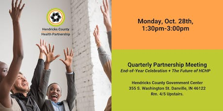 Quarterly Partnership Meeting: End-Of-Year Celebration + Future of HCHP tickets