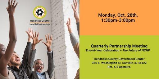 Quarterly Partnership Meeting: End-Of-Year Celebration + Future of HCHP