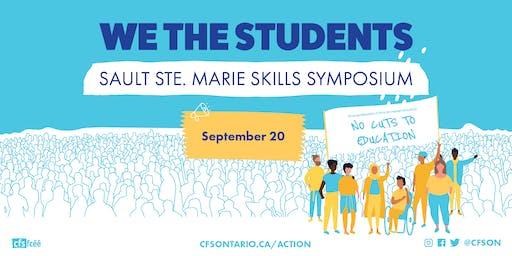 We The Students: Sault Ste Marie Skills Symposium