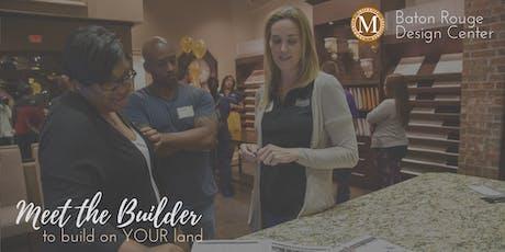 Manuel Builders - Meet the Builder Baton Rouge tickets