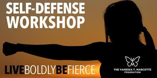 SELF-DEFENSE WORKSHOP 9/26/19