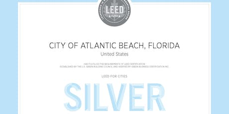 COAB LEED for Cities Silver Certification Dedication tickets