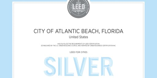 COAB LEED for Cities Silver Certification Dedication