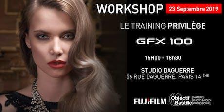 WORKSHOP FUJIFILM GFX100 #COMING #SOON billets