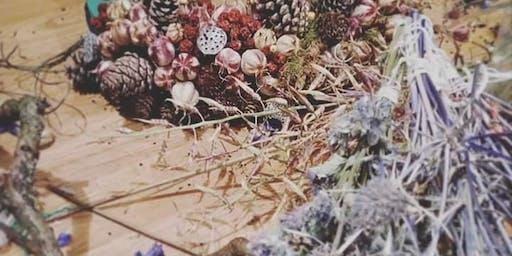 Natural Christmas Wreath Making Workshop