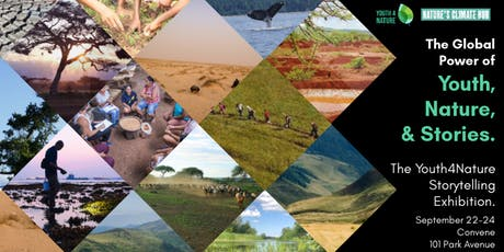 The Global Power of Youth, Nature & Stories: The Youth4Nature Exhibition tickets