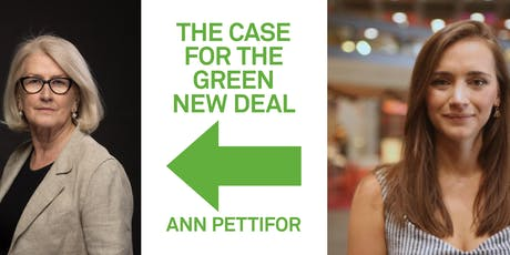 The Green New Deal: Ann Pettifor and Grace Blakeley tickets
