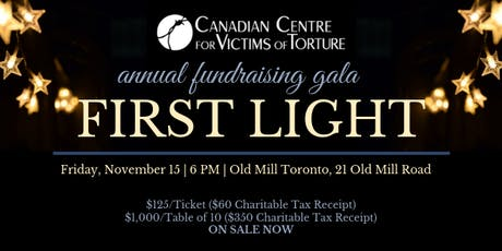 First Light Fundraising Gala tickets