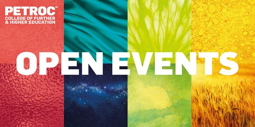 Petroc Mid Devon Campus Open Event: 9th October