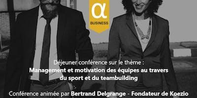 Déjeuner avec une conférence de Bertrand DELGRANGE