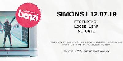 We The Plug Presents: BENZI at Simons 12.07.19