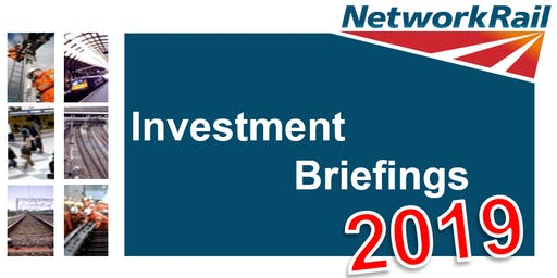 Network Rail - Group Investment Briefings 2019 - London