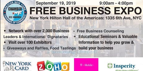 Greater New York Chamber Business Expo tickets