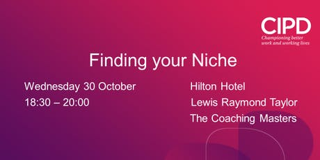 Finding Your Niche (and other tips) tickets