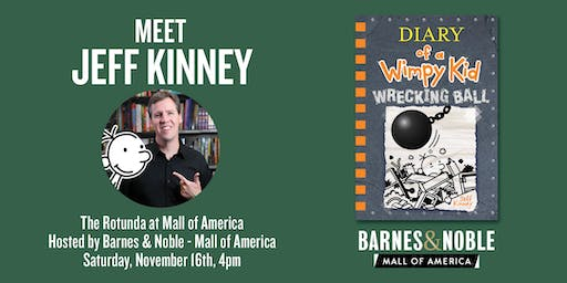 Diary of a Wimpy Kid: The Wrecking Ball Show at the Mall of America - 4 PM