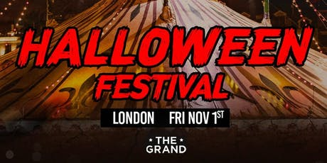 TWISTED CIRCUS HALLOWEEN FESTIVAL 2019 - LONDON tickets
