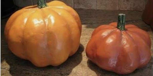 """Homeschool Art """"Paper Mache Pumpkins"""""""