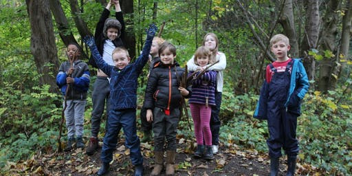 Kids adVentures Prestwich Forest School Holiday Club October Half Term 2019