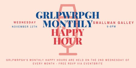 grlpwrpgh Monthly Happy Hour tickets