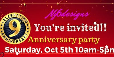 9th Anniversary Party at NY6 Designs Beads & Supplies
