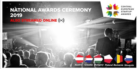 Central European Startup Awards - National Awards Ceremony tickets
