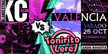 Batalla Rockera: Klandestina Club VS Tonirito Leré i la Bona Band entradas
