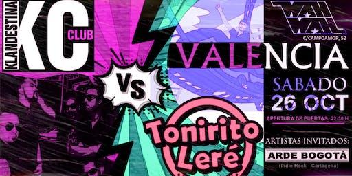 Batalla Rockera: Klandestina Club VS Tonirito Leré i la Bona Band