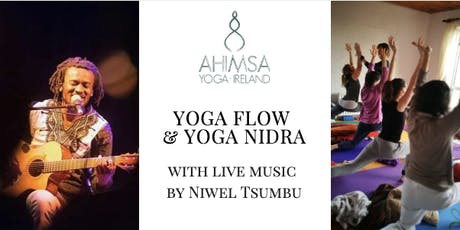 Yoga Flow & Yoga Nidra - with live music by Niwel Tsumbu tickets