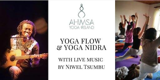 Yoga Flow & Yoga Nidra - with live music by Niwel Tsumbu