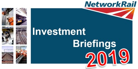 Network Rail - Investment Briefings 2019 - Cardiff tickets