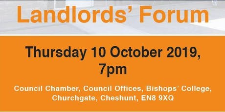 Broxbourne Council's Landlords' Forum tickets