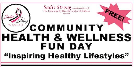 Sadie Strong Health & Wellness Community Fun Day