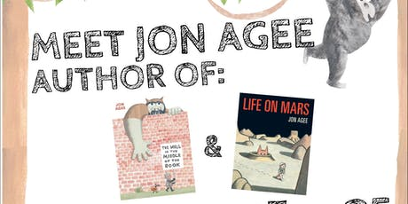 Meet Jon Agee, author of The Wall in The Middle of The Book & Life on Mars tickets